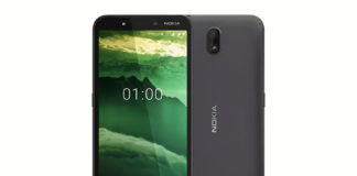 Nokia C1 low budget smartphone launched 5mp selfie camera android 9 pie go edition
