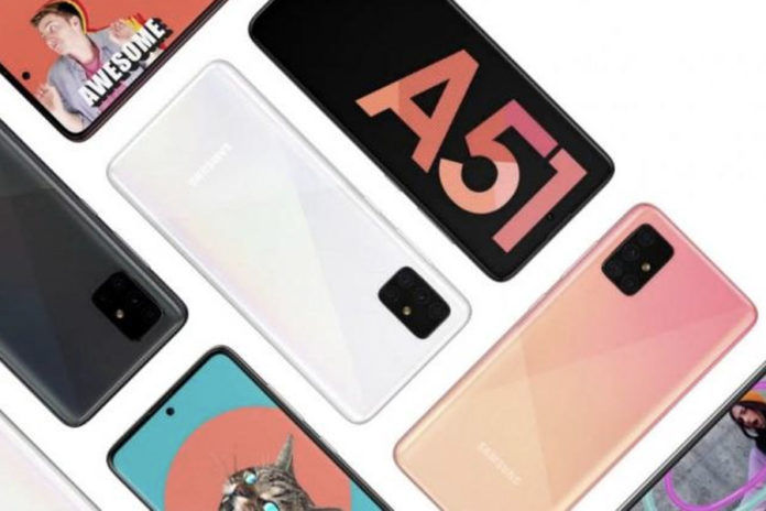 Samsung Galaxy A51 launched with 8gb ram 128gb storage battery quad camera specs sale offer price