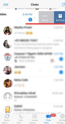 whatsapp tips and tricks how to hide personal message archive chat