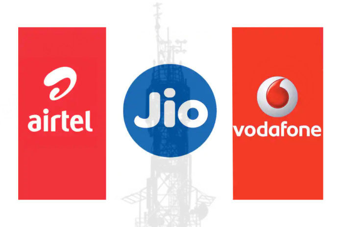 Airtel Vodafone Idea Reliance Jio daily 3gb 4g data best plans offers