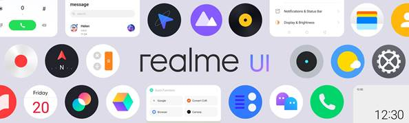 Realme UI launched in india advanced top feature update in 2020