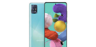 Samsung Galaxy A51 5G official images surfaced on internet design reveals quad camera punch hole display