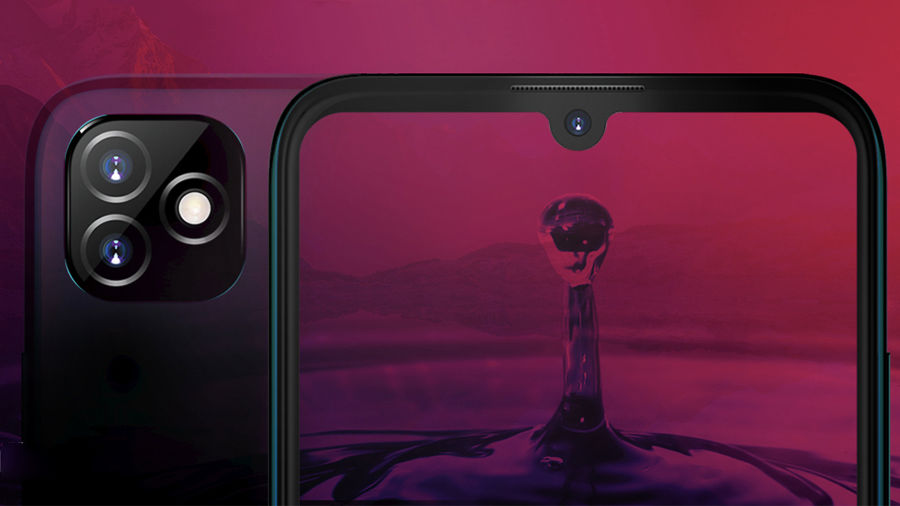 exclusive itel new phone water drop display bigger battery and octa-core processor