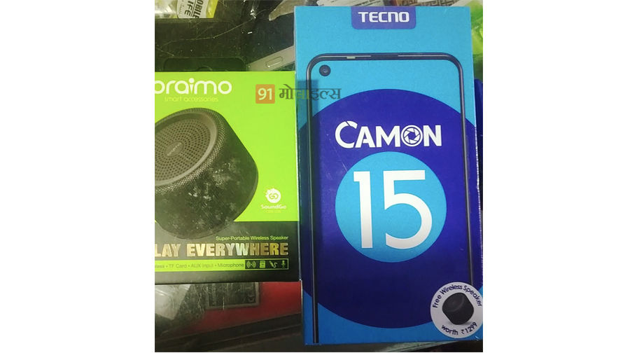 Exclusive Tecno Camon 15 price sale specification free bt speaker punch hole display pop up camera