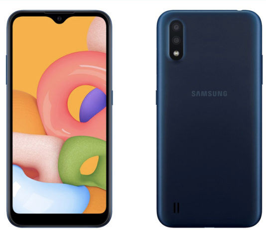 samsung Galaxy A3 Core Google Android devices listing leaked