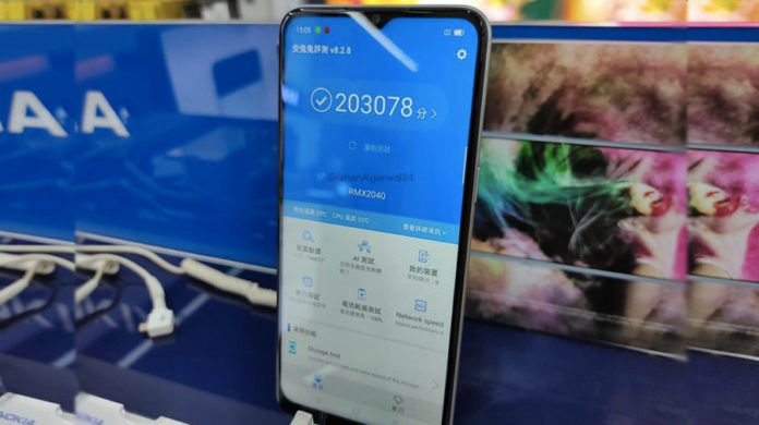Realme Narzo 10 real photo leaked chipset price 5000mah battery specs
