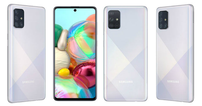 Samsung Galaxy A71 5G certified on tenaa punch hole display quad rear camera revealed exynos 980 chipset