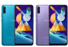 Samsung Galaxy M11 m01 price cut in india spacs sale
