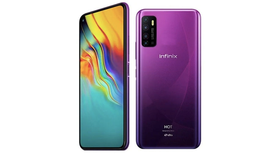 Infinix Hot 9 pro launched india 5000mah battery quad camera punch hole display specs price sale offer