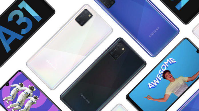 Samsung Galaxy A31 price cut discount rs 1000 in india sale 20999 specs offer