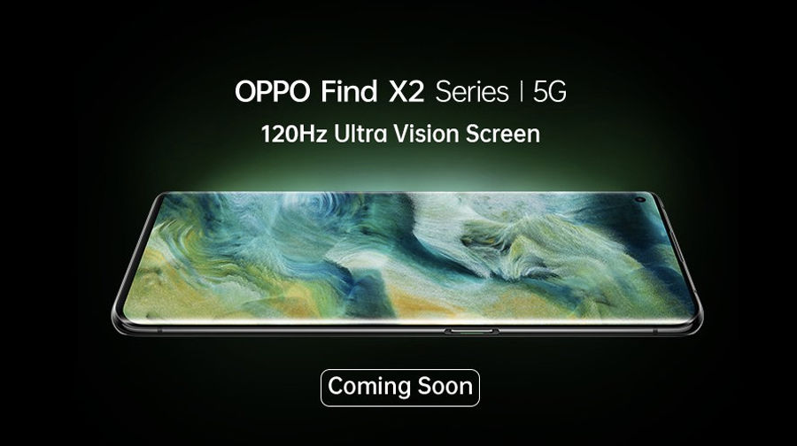 OPPO Find X2 series coming soon in india amazon notify me product page live launch
