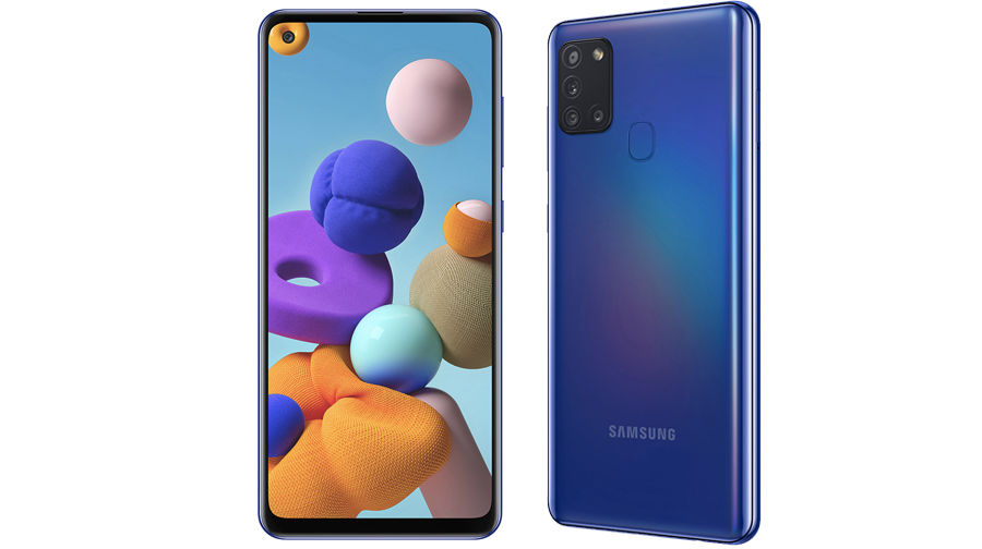 Samsung Galaxy A21s officially launched full specifications price sale offer redmi realme vivo oppo india