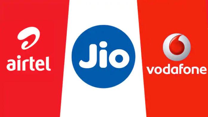 Reliance Jio Airtel Vodafone Idea rs 399 plan comparison data ott benefits