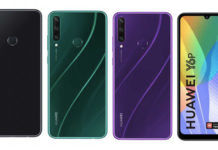 Huawei Y6P Y5P full specifications photo design leaked 5000mah battery triple camera price sale offer