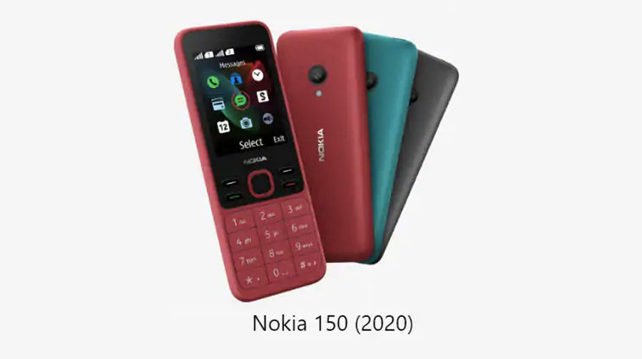 Nokia 125 Nokia 150 2020 feature phone launched know specs cheapest price sale