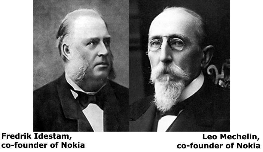 Leo Mechelin, co-founder of Nokia