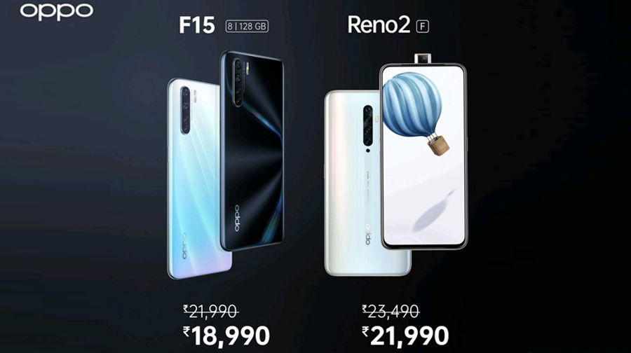 OPPO F15 Reno 2F price cut in india by rs 3000 know specs sale offer