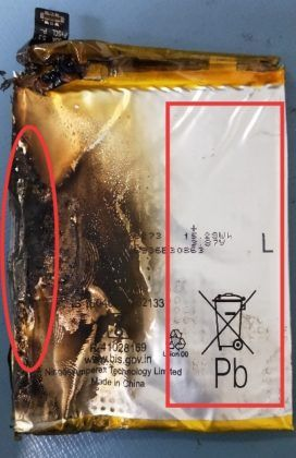 Realme XT caught fire in india while man sleeping