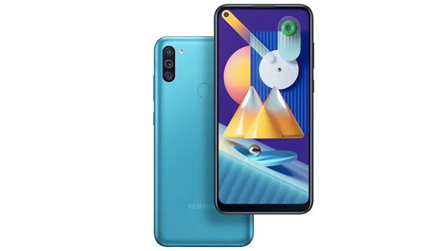 Samsung Galaxy M11 launched in india 5000mah battery 4gb ram triple rear camera full specs  price 10999 sale offer