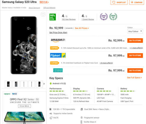 best non chinese phone for india