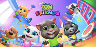 My Talking Tom Friends virtual pet mobile game official launch in india ready for download outfit7