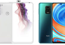 Xiaomi Redmi Note 9 Pro Max vs Motorola One Fusion Plus specs price comparison india