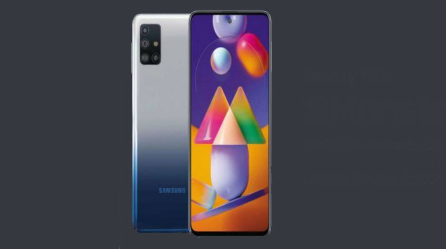 Samsung Galaxy M31s launched in india 6000mah battery 64mp camera specs price sale offer