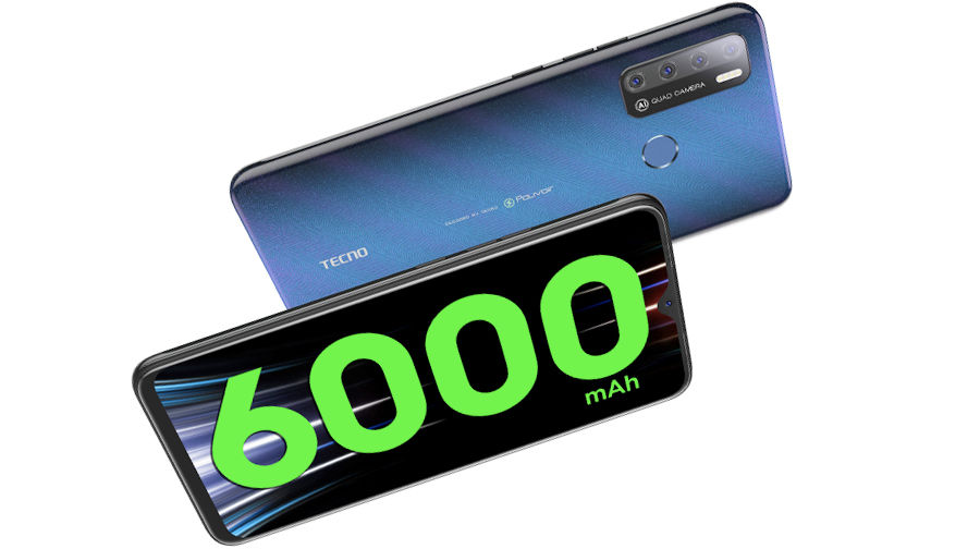 Tecno Spark Power 2 Air launched in india with 6000mah battery 7 inch display at price rs 8499