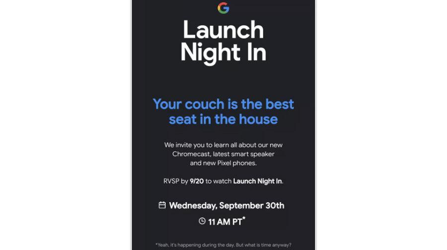 Google Pixel 5 Chromecast smart nest speaker to launch on 30 september