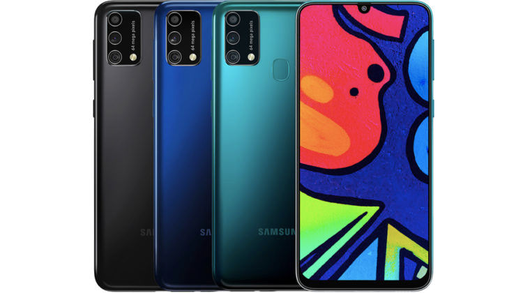 Samsung Galaxy M12 f12 listed on bis launching soon in india