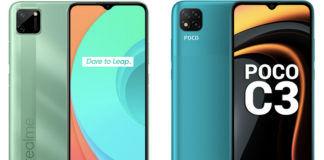 best-low-budget-phone-india-at-rs-7499-price-realme-c11-vs-poco-c3