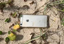 apple iphone 6s fell from plane and survived with camera recording on