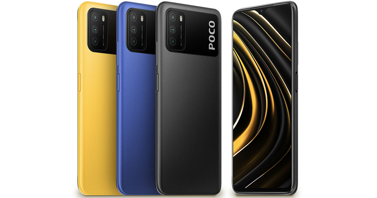POCO M3 4GB RAM 64GB Storage variant launched at price rs 10499 in india