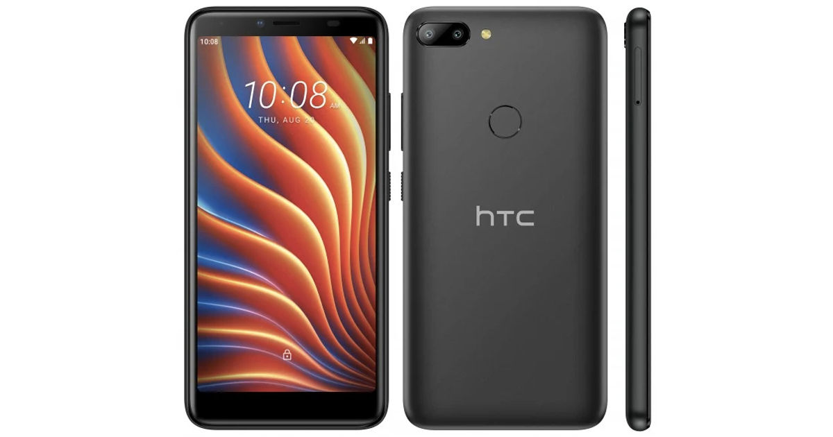 HTC Wildfire E lite announced android 10 go edition in low budget