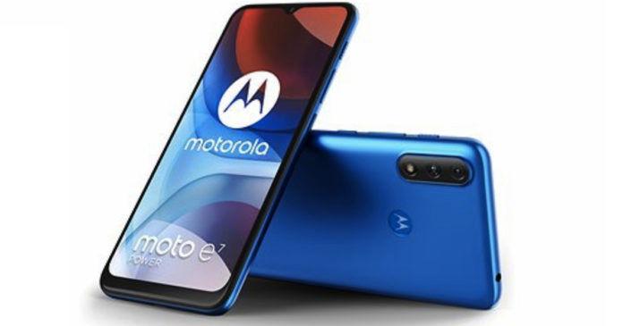 MOTOROLA Moto E7 Power specs design leaked