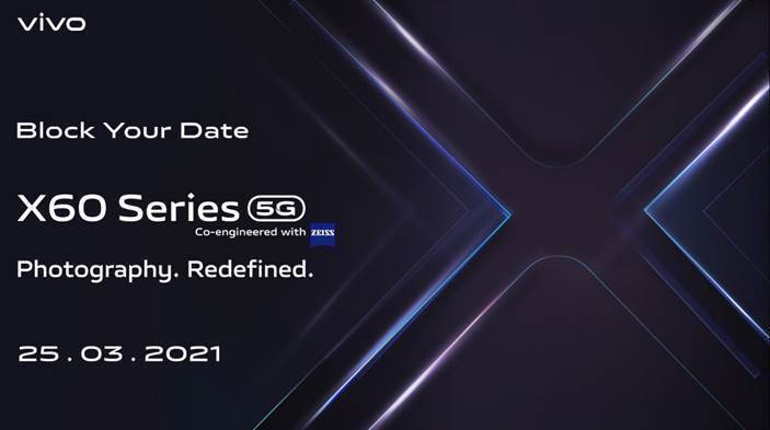 Vivo X60 Series India Launch on 25 March know specs price sale