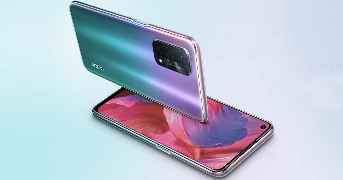 OPPO A74 5G phone launched in india price sale specifications offer