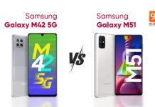 samsung galaxy m42 5g vs galaxy m51