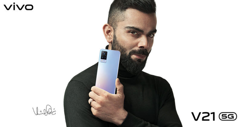 vivo V21 5G india launch confirmed coming soon on 27 april with 44mp selfie camera 11gb ram