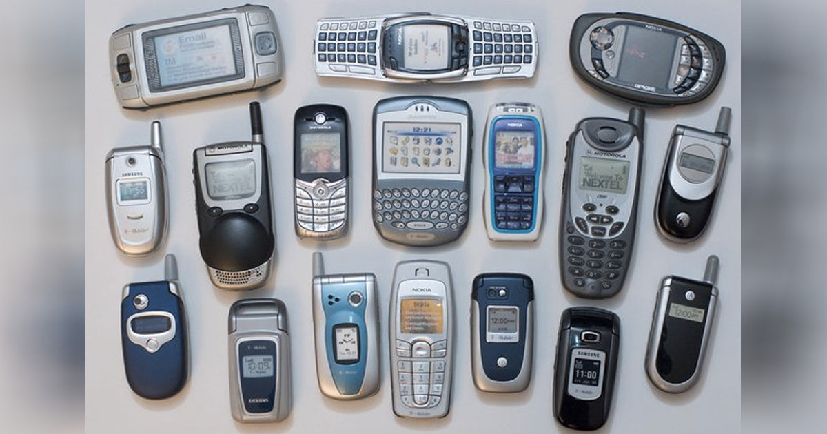 five Generations of Mobile Technology from 1G to 5G