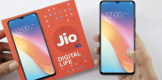 reliance jio 5g phone internet plans and network in india