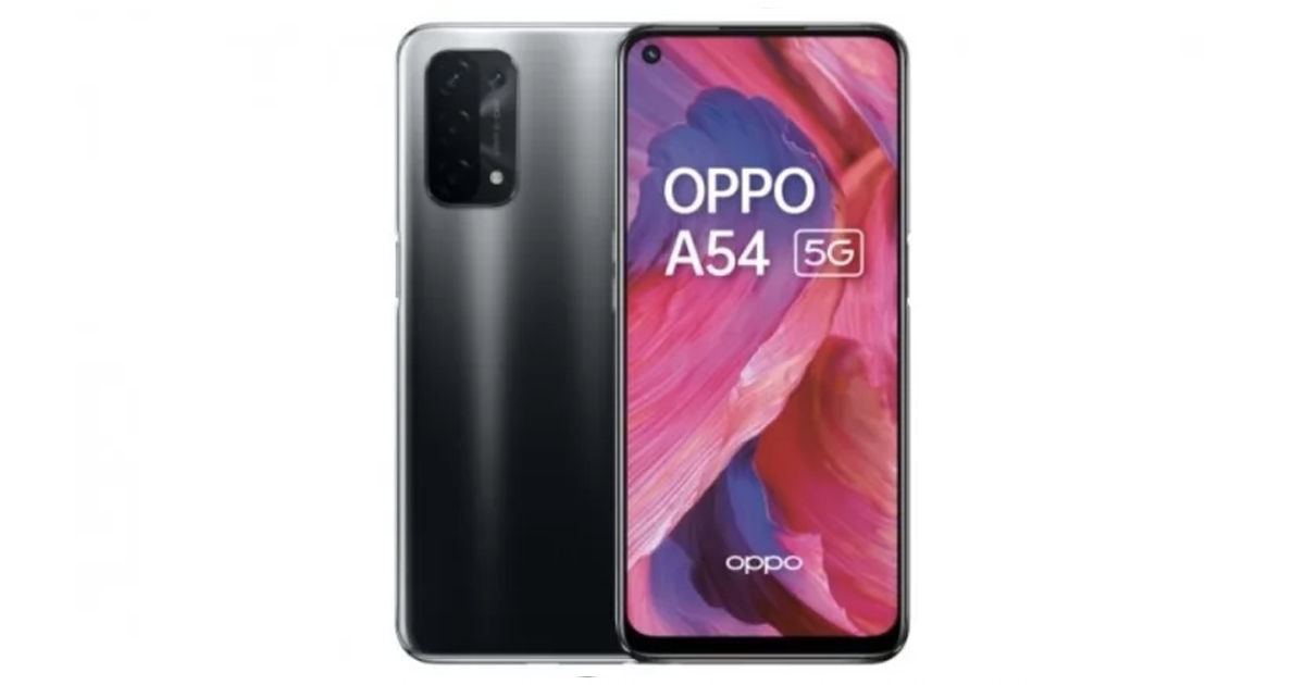 OPPO A54 5G Phone officially launched Specs Price Sale Offer