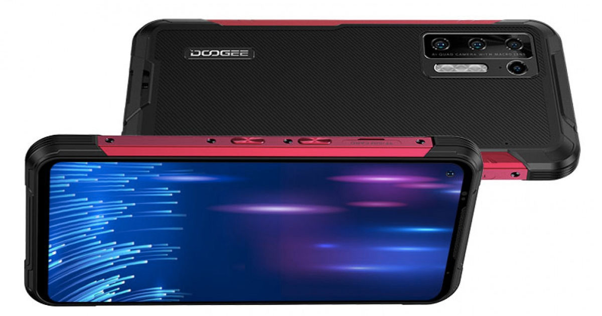 rugged smartphone Doogee S97 Pro official with laser rangefinder 8500mah battery