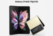 Samsung Galaxy Z Fold3 and Flip3 5G
