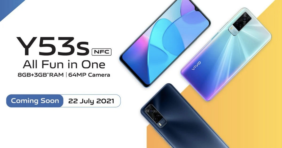 Vivo Y53s NFC Launch Price Specs Sale Offer