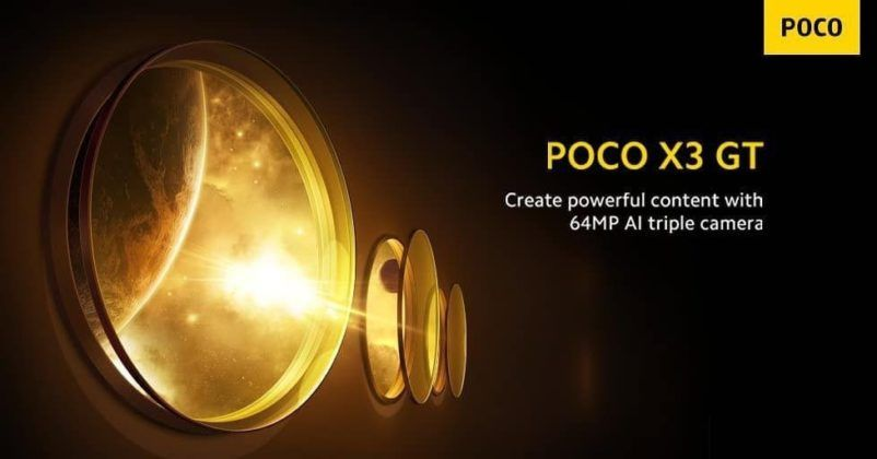 POCO X3 GT Specs Revealed before Launch 26 july