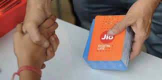 Reliance Jio giving free Internet Data for two days after service outage