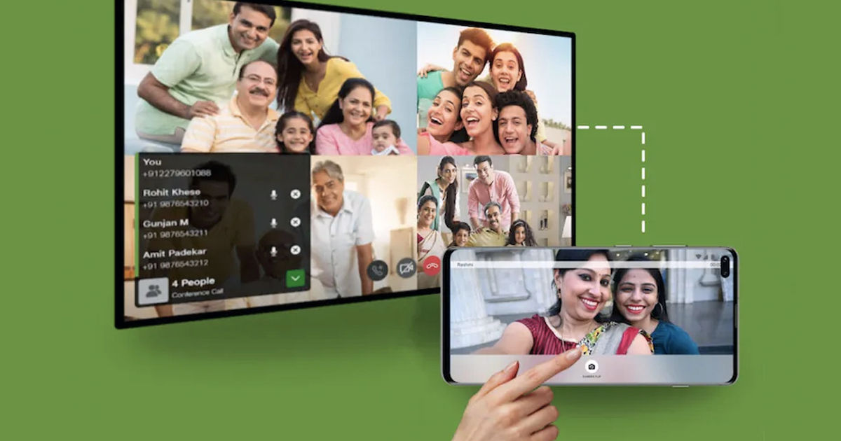 how to make video call on tv over jio fiber jiojoin app free