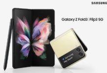 Samsung Galaxy Z fold 3 and flip 3