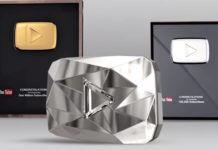 YouTube Creator Awards how many YouTube play button
